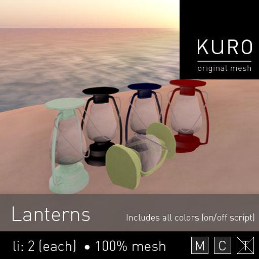 Kuro - Lanterns